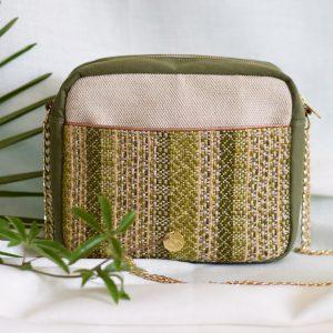 Sac à main Tane tissage artisanal français